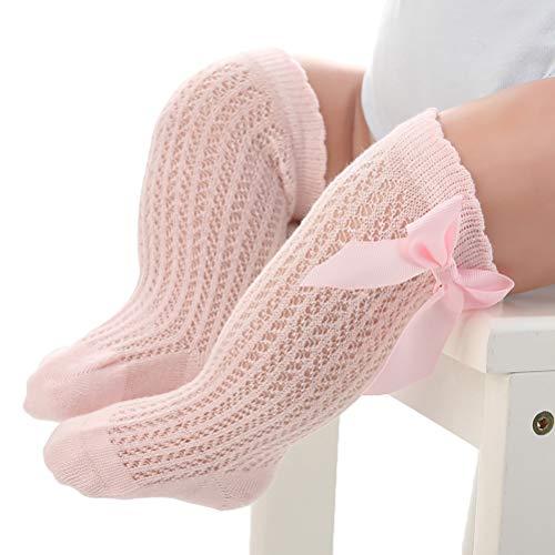 Fansheng - Calcetines altos para bebé, calcetines antideslizantes