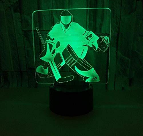 YiYUNRR nachttafellamp, 3D-kleur 7, sfeerverlichting, 3D visuele illusie, led-lamp voor de beste verjaardag, voor meisjes en jongens