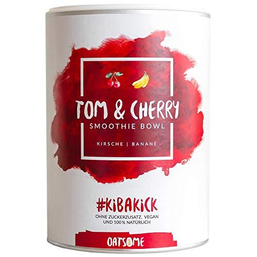 Tom & Cherry - Smoothie Bowl - Nährstoff Frühstück mit 100% Natürlichen Zutaten & ohne Zusatzstoffe und raffinierten Zucker - Lange satt mit nur 200 kcal - 400g