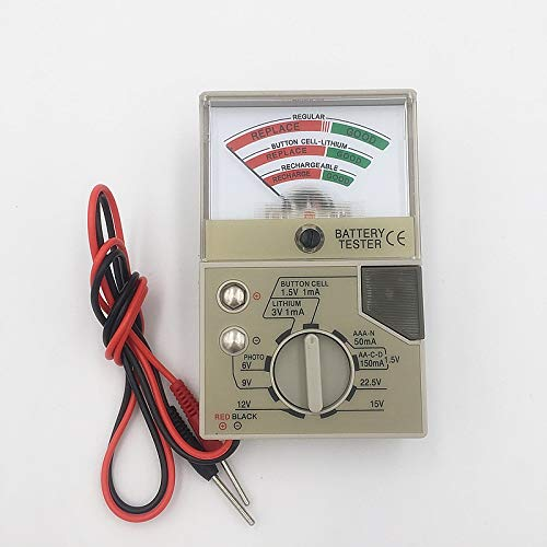 Multifunctional Battery Tester Electronics Watch Button Cell Alkaline...