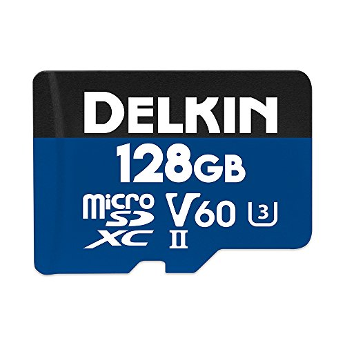 Delkin DDMSDB19001H Devices 128GB Prime microSDXC UHS-II (U3/V60) Memory Card