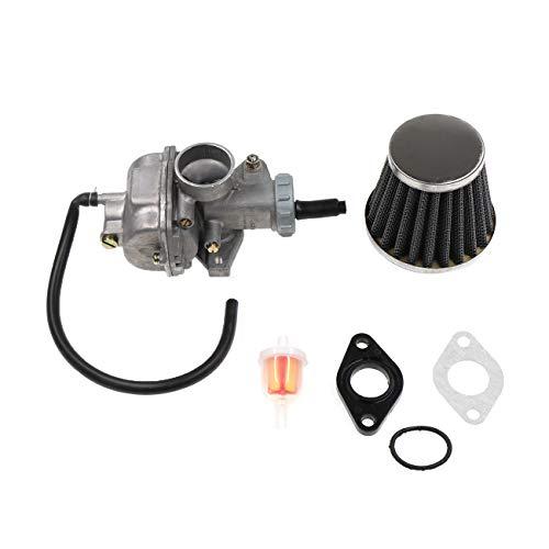 JRL para PZ20 20 20 mm Carburador Filtro de aire 110 125 cc chino ATV Quad Dirt Bike Parts
