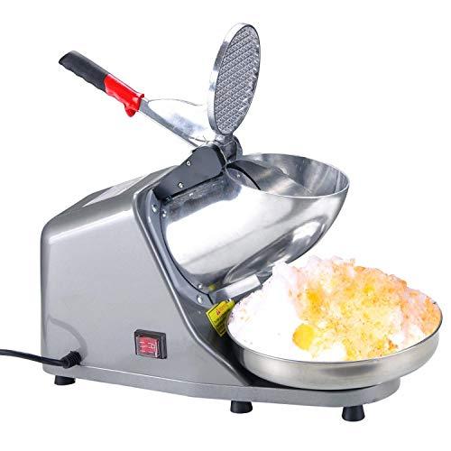 Máquina eléctrica para hacer conos de nieve de 200 W Smoothies Ice...
