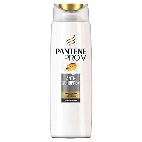 Champú Anti-Caspa de Pantene Pro-V para todo tipo de pelo, paquete de 6 unidades (4 unidades de 300 ml)