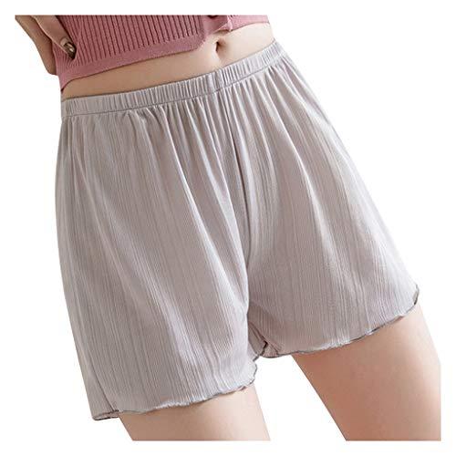 HDUFGJ Damen Sommer Kurze Hosen Safety Short Pants Casual Home Shorts Schlafhose
