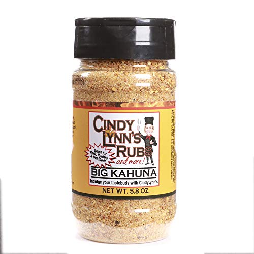 Cindy Lynn's Big Kahuna Rub and Seasoning- 5.8 oz
