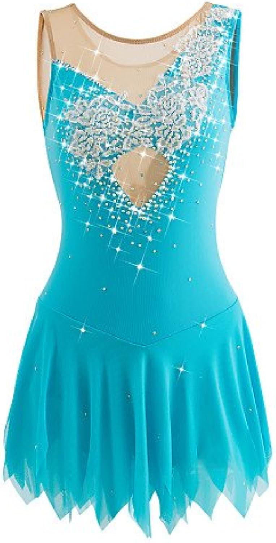 a99829e06fe81 for Dress Skating Ice Handmade Heart&M Girls bluee Light Sleeveless ...