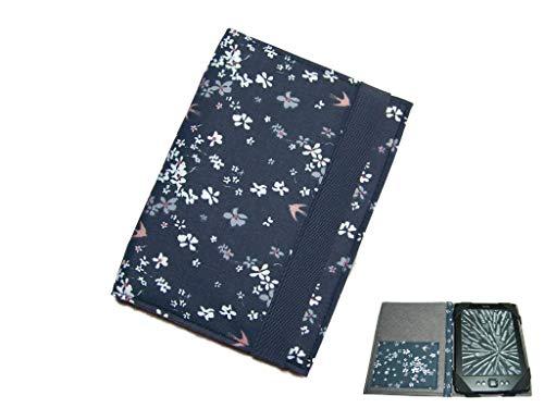 aufklappbare eBook Reader eReader Tablet Hülle Schwalbenglück, Maßanfertigung, z.B. für Tolino Shine 2HD Kindle Paperwhite