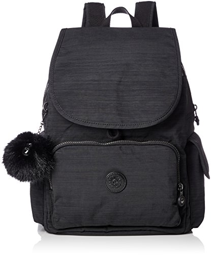Kipling Damen City Pack Rucksack, Schwarz (True Dazz Black), 15x24x45 Centimeters