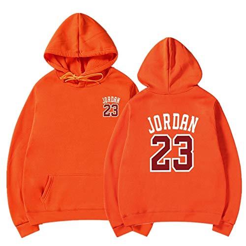 YDMZMS merk brief print sweatshirt mannen hoodies mode solide hoody mannen trui heren trainingspak mantel S-XXXL oranje 65