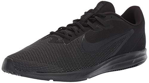 Nike Herren Downshifter 9 Laufschuhe, Schwarz (Black/Black-Anthracite 005), 42 EU