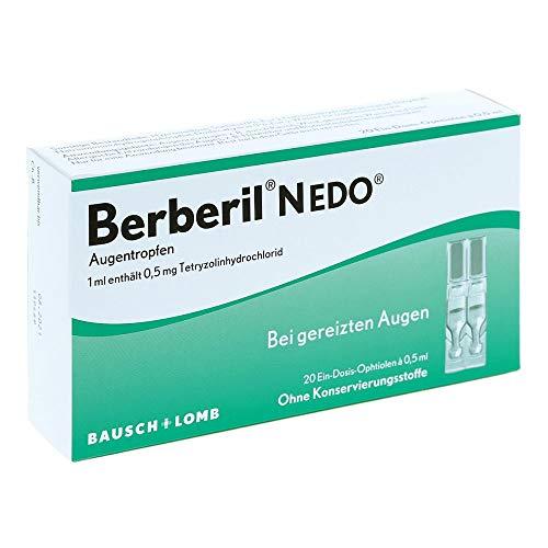 Berberil N EDO Augentropfen bei gereizten Augen, 20 St. Ein-Dosis-Behälter