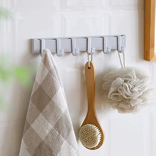 Hyxqyzz Zelfklevende kapstok, voor keuken, badkamer, rek, waterdicht