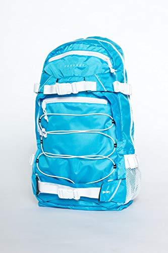 Forvert Neon Louis, unisexe, sac à dos, compartiment principal, 3 autres compartiments, catcher de boards, 20 L, rembourré, réglable. Taille unique bleu