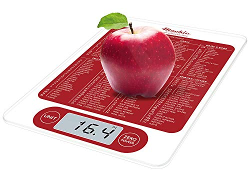 Mackie C19 Food Scale, Digital Kitchen Scale Simple 1g   0.1 oz Accurate for Cooking Baking Meal Prep Diet Health an American Co.