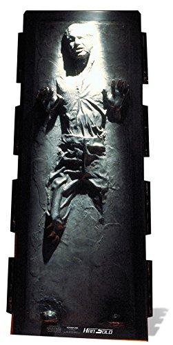 PARTYRama Sternausschnitte Stsc517 - Riesenfigur - Han Solo - Star Wars - 185 x 78 cm.