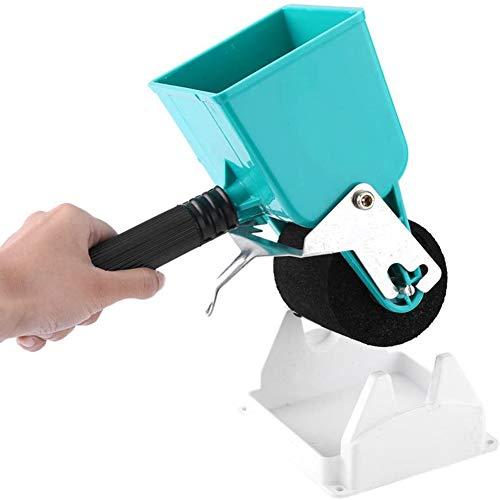 YCX Tragbare Kleber Applikator Roller DIY Handklebewalze, Für Tischler Holzbearbeitung Verbreitung Klebstoffe Effizient,Blau