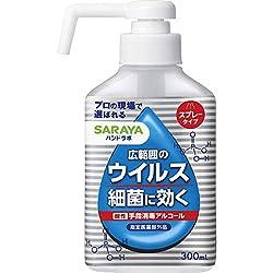 サラヤハンドラボ 手指消毒 アルコールスプレー VH 300mL [指定医薬部外品]