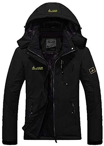 Mochoose Donna Outdoor Mountain Impermeabile Windbreaker Vello Neve da Sci Giacche con Cappuccio Sportwear Rain Coat Campeggio Pesca Caccia Working Jacket