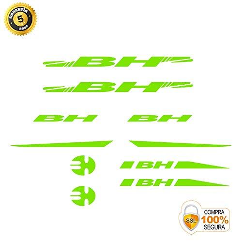 Pegatinas para Bici - Sticker Decorativo Bicicleta - Juego de Adhesivos en Vinilo para Bici BH Pegatinas Cuadro Bici