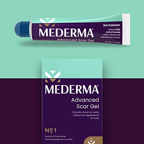 Mederma Advanced Scar Gel - Advanced Scar Treatment for Old and New...