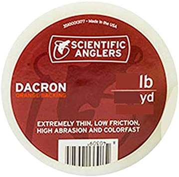 Scientific Anglers Fly Fishing Specialty Dacron Backing