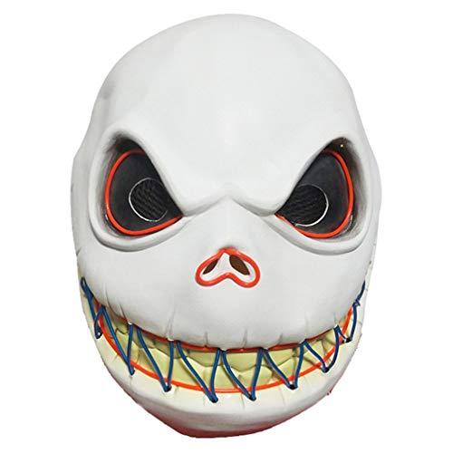 N\A - Máscara de esquí para disfraz de Halloween y Skeleton Jack Latex
