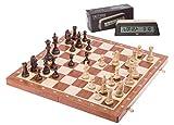 Square - Ajedrez Set S2 - Tablero de ajedrez - Staunton No 5 + Reloj DGT 1002 Bonus