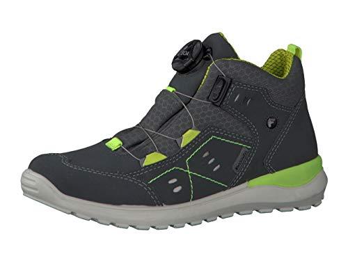 RICOSTA garçon Bottes & Boots Speed, Bottes pour Enfants, Gamin Bottes,Fermeture Rapide,imperméable à l'eau,Grigio/Grau,35 EU / 2.5 UK