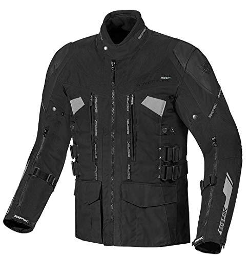 Berik Striker Motorrad Textiljacke 48 Schwarz