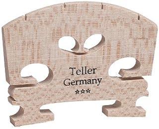 GEWA ゲバ ドイツ製 Teller  ヴァイオリン 駒 4/4サイズ カット済み直ぐに使用可