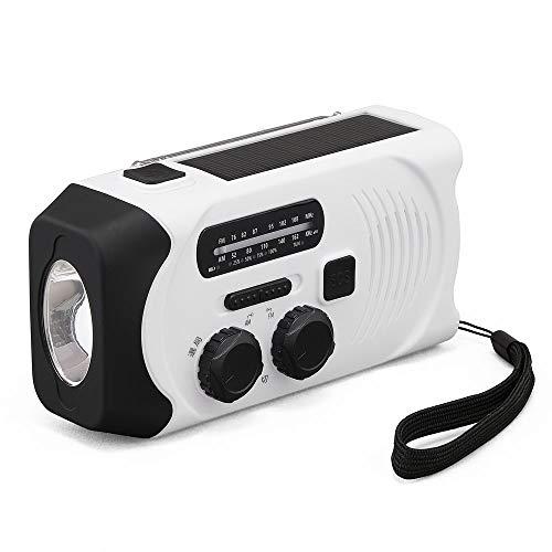 アイリスオーヤマ ラジオ 防災グッズ 防災ラジオ 小型 充電式 手回し led ライト バッテリー 携帯 手回し充電ラジオライト JTL-29 ホワイト 幅約6.2×奥行約14.6×高さ約7.8(cm)