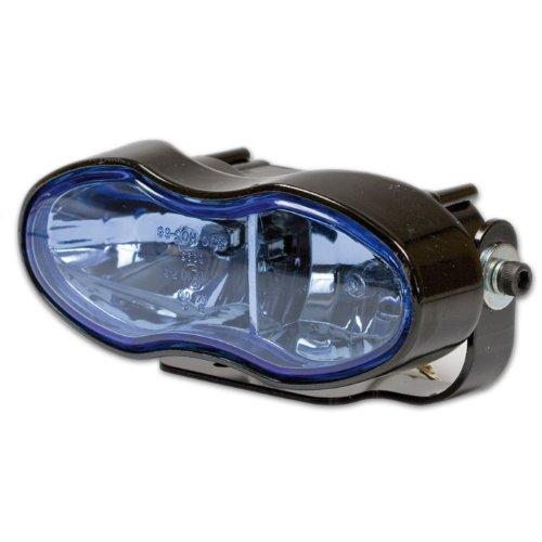 Motorrad Doppel-Scheinwerfer, Fern- und Nebelscheinwerfer, 2 x H3 12V / 55W, E-geprüft