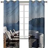 Cortinas opacas, cortinas térmicas con aislamiento térmico,...