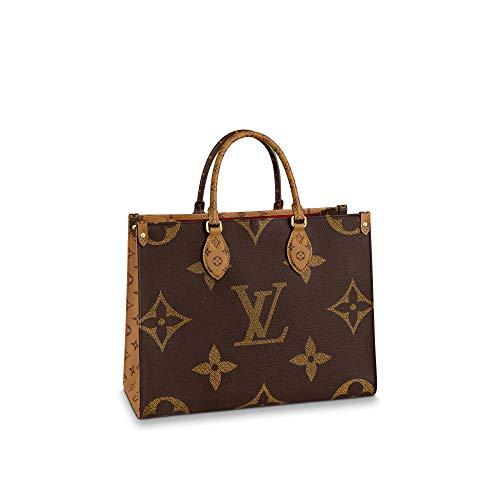 Louis Vuitton Reverse Monogram Giant Onthego MM Shoulder Bags Purse Handbags M45321