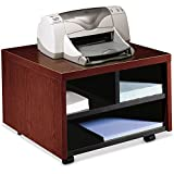 The HON Company 105679NN Printer/Fax Cart, Mobile, 20-Inch x19-7/8-Inch x14-1/8-Inch, Mahogany