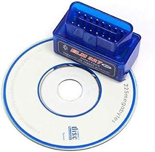 جهاز كشف ومراقبة اعطال السيارة ELM327 بنظام او بي دي II يدعم جميع السيارات المزوّدة بنظام تشخيص الاعطال الذاتي بالبلوتوث