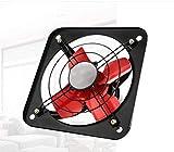 Ventilador de escape Tipo de ventana de humo de 12 pulgadas de gran alcance de la cocina silencioso Gran volumen de aire ventilador de ventilación industrial con cobre Hogar de baño para el hogar Vent
