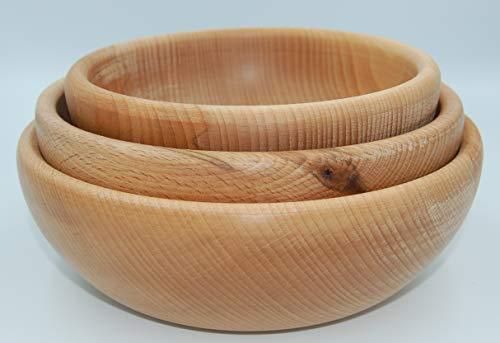 PlatanRoom -   3er Set Holzschale