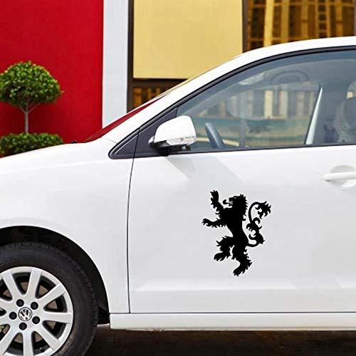 Juego de la casa del trono Lannister Sigil vinilo HBO logo 5.5'troquelado vinilo adhesivo calcomanía para windows coche camión portátil noteBook blanco
