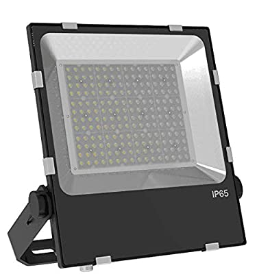 MORSEN 240W LED Flood Light Outdoor, Super Bright LED Stadium Lights with Plug, 24000LM 5000K Daylight White, IP66 Waterproof Outdoor Floodlights