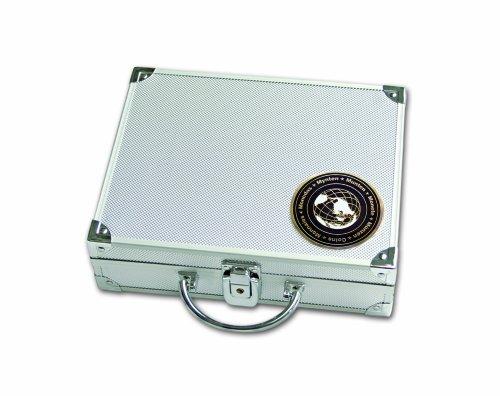 Alu-Münzen-Koffer SAFE 176 SP (mit 6 Tableaus nach Wahl)