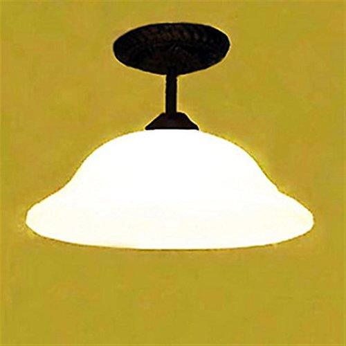 Montaje empotrado, 1 luz, estilo americano, rústico, esmerilado, 220-240 V