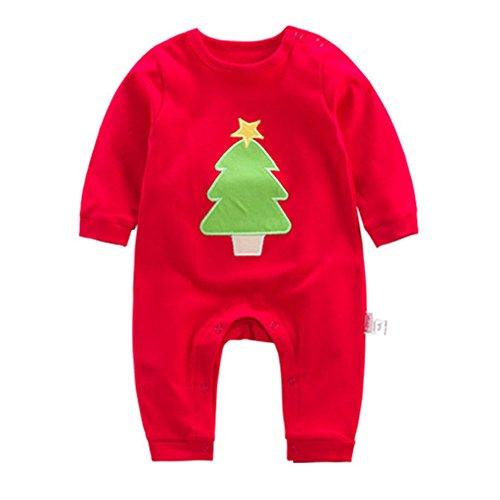 Pagliaccetto Bambino Unisex - Romper Ragazzi Ragazze Hoodie Cotone Jumpsuit Autunno Outfit Stile Animale Regalo Natale Kootk