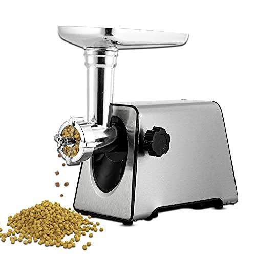 YUCHENGTECH Máquina de pellets eléctrica para alimentos para mascotas Máquina de pellets de comida para perros Máquina de pellets de alimentación domésticos(9 mm para perros grandes)