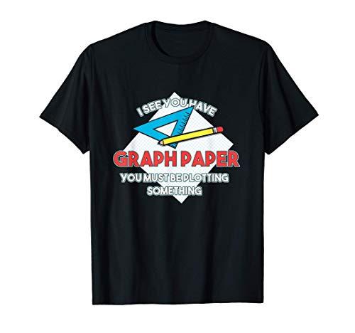 Architekt Ingenieur Blaupause Grafik Papier Plotten Etwas T-Shirt