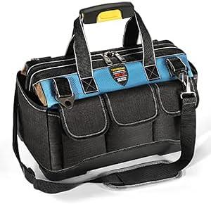 Tool Bag Portable Waterproof Storage Bag with Adjustable Shoulde