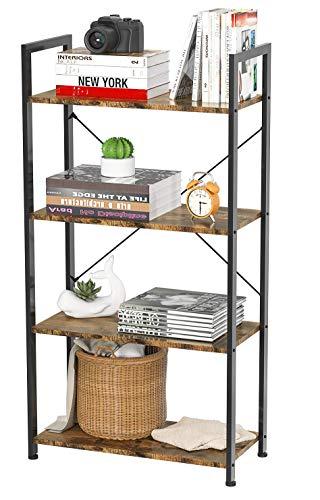 Soges 5-Tier Shoe Rack 29.5 inches Wooden Shoe Storage Shelf Shoe Organizer, Teak L24-XTK