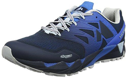Merrell Agility Peak, Zapatillas de Running para Asfalto para Hombre, Azul (Directoire Blue), 47 EU