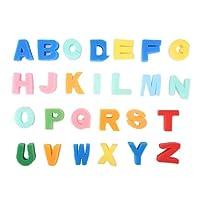 大文字スポンジモデルシールスタンプ 子供 キッズ クラフトペイント おもちゃ教育アルファベット 英語学習 26個